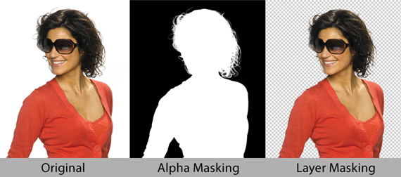 How to Cut Out Hair by Image Masking?