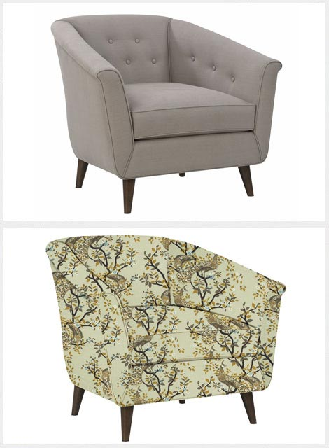 Other texture imposed on furniture