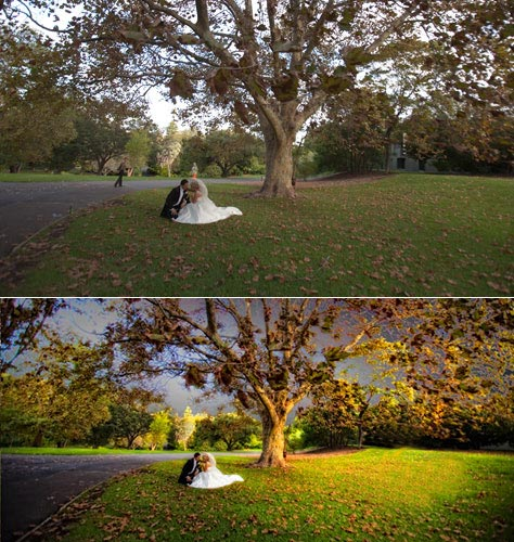 Wedding Photo Enhancement